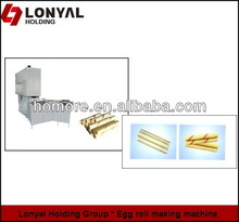 Double Colored Egg roll and ripple egg roll making machine