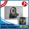 Cheap eruo smart alarm padlock siren alarm padlock