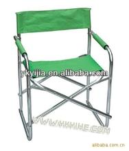 High foling aluminum green Director Chair