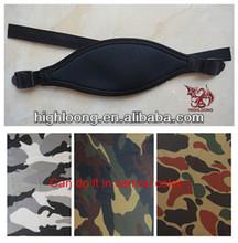 Elastic neoprene mask strap & custom mask strap with webbing and buckles