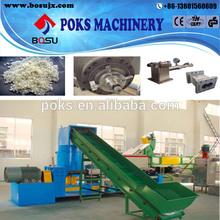 single screw pp film granulator line water-ring granulator