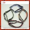 2015 adjustable metal buckle dog collars with blooming flower print