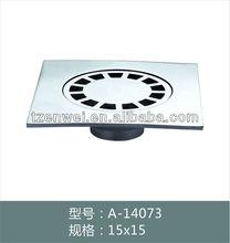 zinc bathroom floor drain