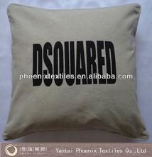 digital printing decorative linen cushion cover wholesale