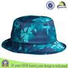 Custom adult fashion blank streetwear tie dyed print bucket cap