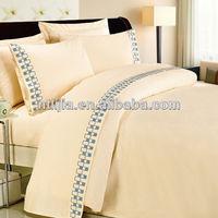 ropa de cama 100% cotton fabric star hotel bedding set sheet sets