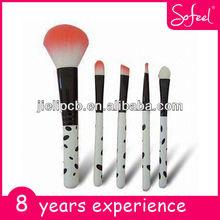 Sofeel 5pcs mini makeup brush set for cosmetics