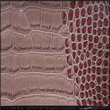 Crocodile PVC Leather for sofa,pvc car seat leather,1.0MM PVC leather for sofa (sofa leather)
