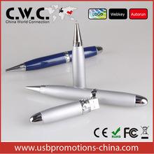 Promotion USB flash drive laser pointer ball pen pen shape customized USB flash drive 1GB/2GB/4GB/8GB/16GB32/GB china supply