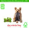 100% biodegradable refill roll scented dog poop bag