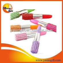 Rhinestone lipstick pen