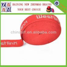 design customer logo elastic bands for boxing gloves and men's underwear