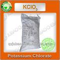 99.5% blanco en polvo de china clorato de potasio fórmulas químicas de fuegos artificiales
