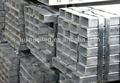 galvanizado praça da tubulação de aço