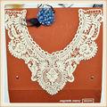 100% de algodón a mano el trabajo de cuello bordado diseños para la señora traje hecho en china 2014