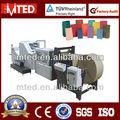 Alta classe french fries saco fundo quadrado máquina/full auto shopping saco de papel que faz a máquina