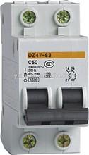 minimum circuit breaker house using MCB switch 1P 2P 3P 4P electric circuit breaker