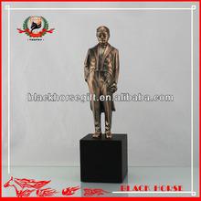 costom metal chairman mao copper statue craft home decor