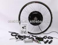Rear wheel 48v 1000w brushless direct drive hub motor electric bike kit