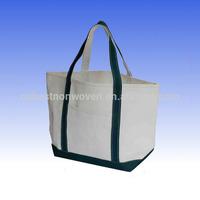 Colourful Long Handle Non Woven Cloth Shopping Bag