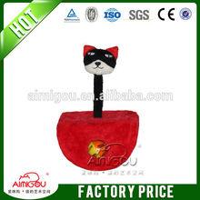 small cat toy / red cat scratch board tree cat