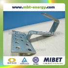 Pitched Tile Roof Solar PV Roof Mounting Hook System -- MRac Tile Interface 145H