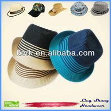 Hot Sale Fedora Straw Hat