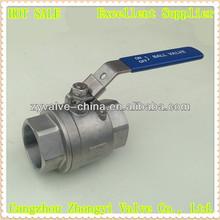 high quality stainless steel long stem ball valve