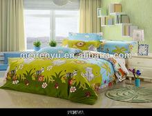 Chinese lastest animal pattern design cotton bedding set children bed sheets cheap bedding set