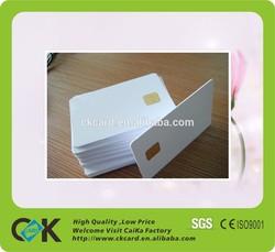 Shenzhen Caika pvc contact smart card/sle5542 contact ic card