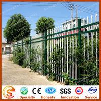 Hot dipped galvanized fence & Powder coated iron stockade