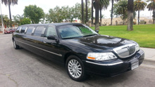 2005 Black 140-inch Lincoln Town Car Limo for Sale #1265