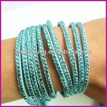 Fashion hot selling bind crystal stretch bracelets BY-041635