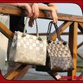 2014 nuevo diseño de bolsos de mujer de paja de lujo