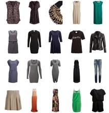 SELECTED WOMAN stock clothes. Spring Summer season.