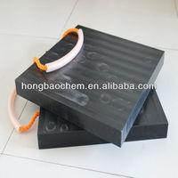 bearing 60 ton crane uhmw pe outrigger pad China Manufacture