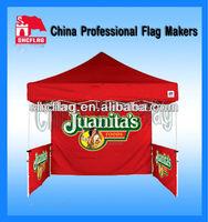 Outdoor custom logo gazebo canopy tent waterproof for display