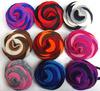 top quality hair flowers wholesale fabric Rose Flower Vintage Flower Hair Clip Baby Girl Wedding love