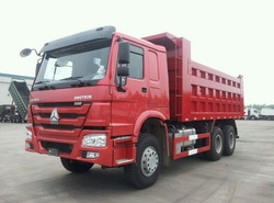 6x4 Sinotruck Tipper Lorry Building Trucks 25-30tons made in China trucks
