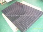 200W black mono solar panel