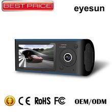 GPS Car camera,Dual Dvr Camera Wide Angel 120degree