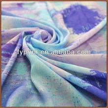 Factory Direct Satin Fabric Custom Design Print On Poly Velvet