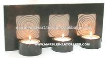 Home Decor Gorara soapstone Candle Hand Carving Rare Art Craft Home Decor and Gifting Candle Stand Beautiful Tea light holder