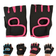 Fingerless Sport Gloves Bicycle Biking Basketball Gloves Fingerless Gloves