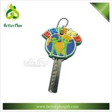 Hot sell 3D soft pvc key holder for popular design