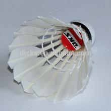 Hot Sale Badminton Shuttle cocks/ Duck Feather Shuttlecocks