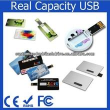 personalized branding card usb flash drive 4gb / custom usb key / card USB novelty