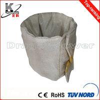 aluminum pipe insulation jacket/aluminum pipe insulation jacket for charging barrel