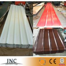 2014 hot selling zinc/aluminium color coated steel roof sheet tile for buliding on china alibaba
