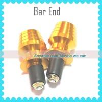 CNC Golden Bar End Handle Plugs Universal handle bar end for HONDA CBR